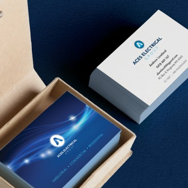 Aces Electrical Group - Business Cards