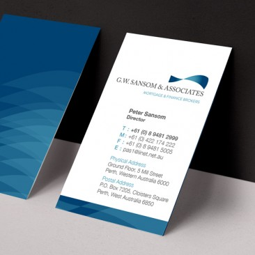 Sansom & Associates - Business Cards