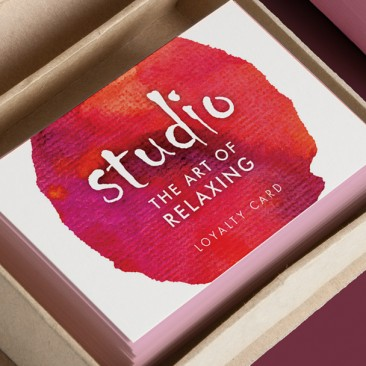 Studio - loyalty cards