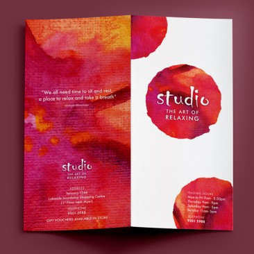 Studio - price list brochure