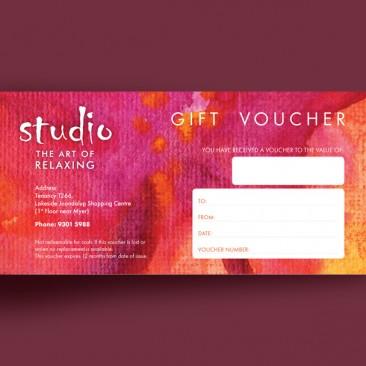 Studio - Gift voucher