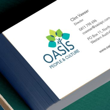Oasis, People & Culture - Logo & Printed Items