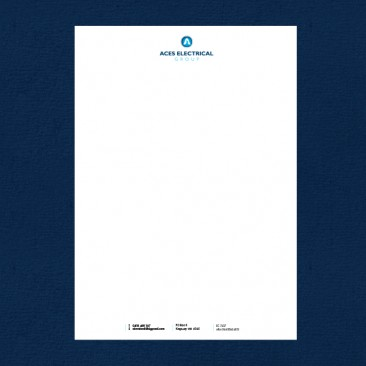 Aces Electrical Group - Letterhead