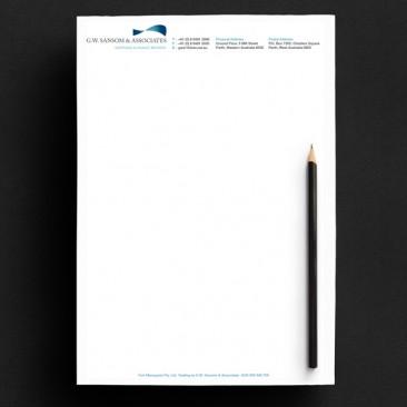 Sansom & Associates - Letterhead