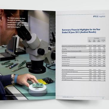 Imdex - Annual Report
